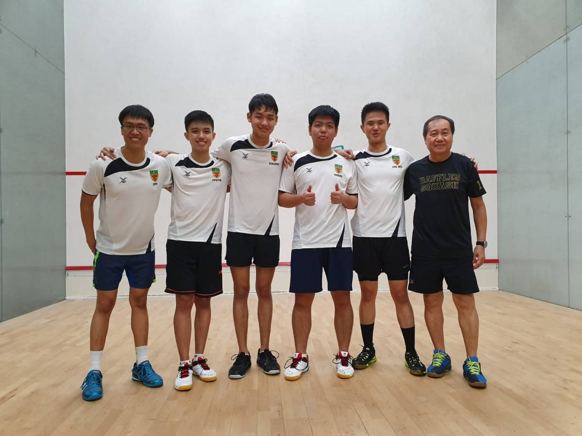 The Ball's in Our Court: Squash Boys' Finals 2019